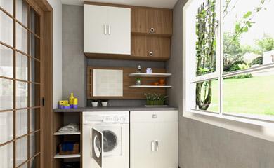 定制陽台櫃家具