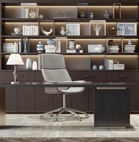 全屋定制家具-书房定制、定制书柜怎么样、定制书柜哪里比较好