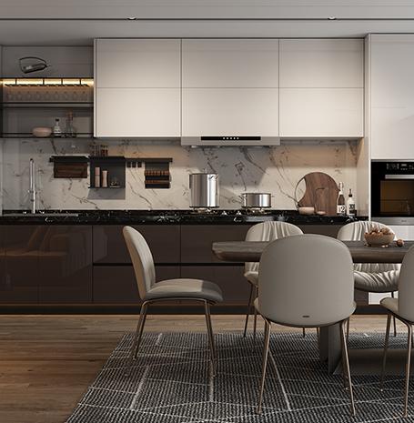 全屋定制家具-厨房定制、定制厨房家具、厨房家具哪里好